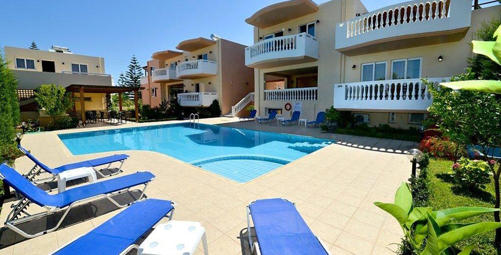 Et faire un dernier plongeon dans la piscine de l'hôtel