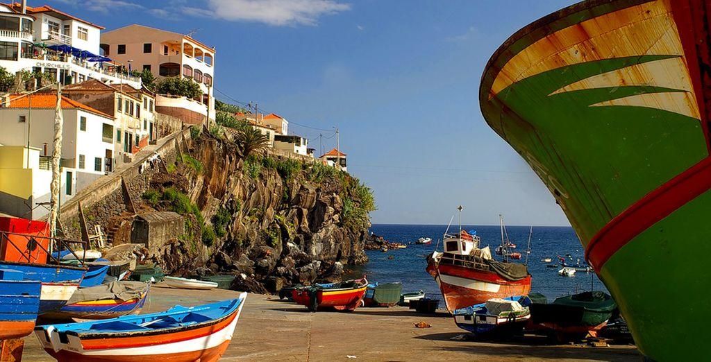 Puis partez à la découverte de Funchal...