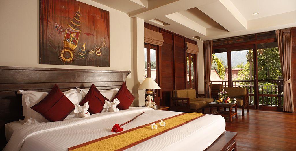 Vous séjournerez en chalet Thai Style...