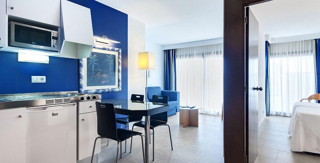 Ou préférez un appartement spacieux