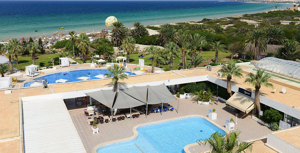 Nous vous emmenons à l'hôtel One Resort Monastir