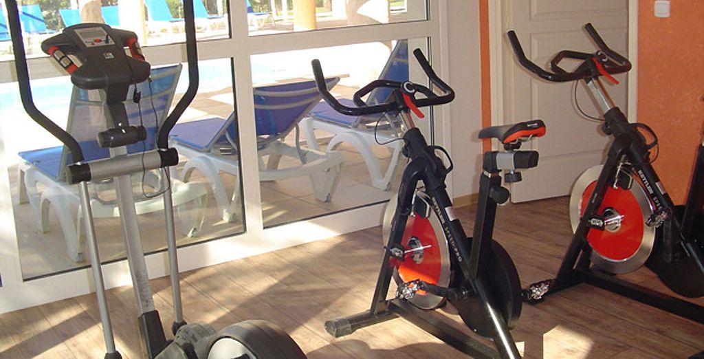 Maintenez-vous en forme à la salle de fitness