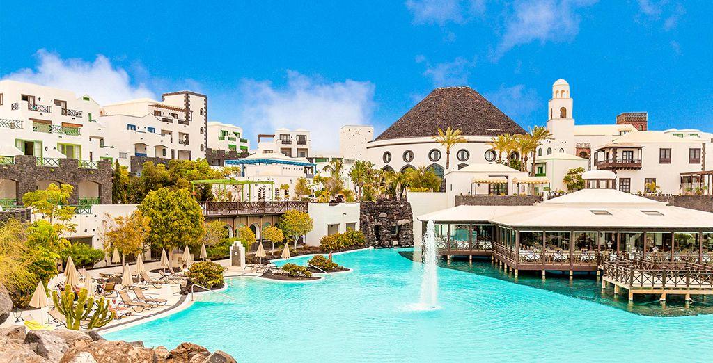 Partez pour Lanzarote ! - Hôtel Volcan Lanzarote 5* Arrecife