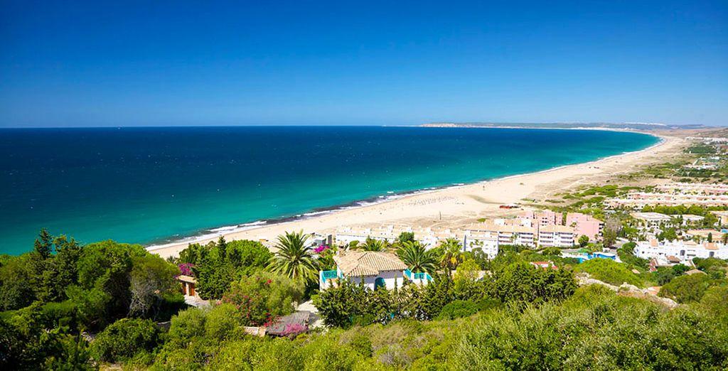 Situé au sud de Cadix, sur la Costa de la Luz