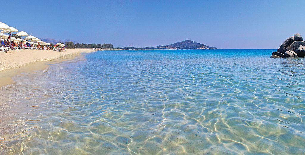 Bienvenue à l'Arbatax Park Resort Cottage, au cœur des eaux cristallines de la Sardaigne