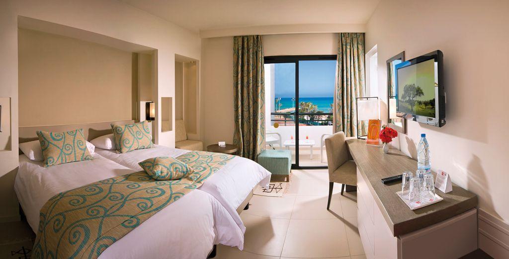 Une chambre confortable pour se reposer