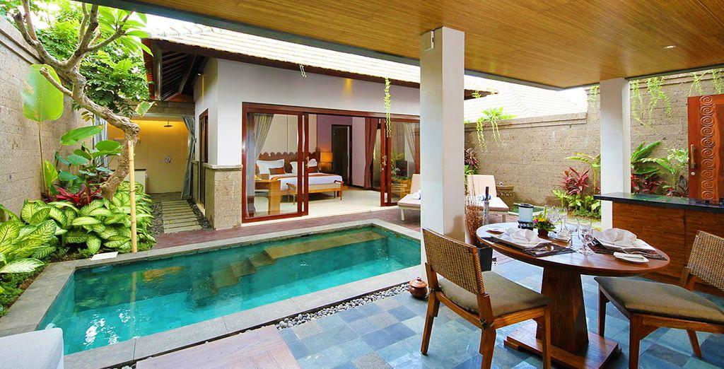 Où nous vous avons réservé votre villa avec piscine