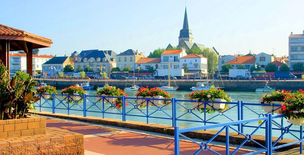 Dans la ville de Saint Gilles Croix de Vie