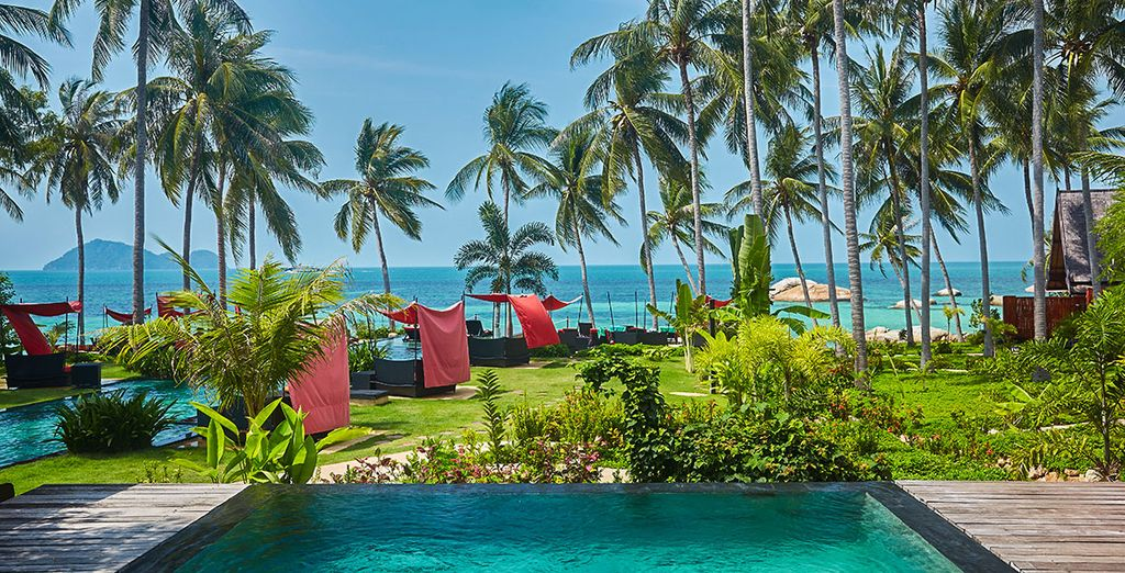 Partez ensuite sur l'île de Koh Phangan en Thaïlande