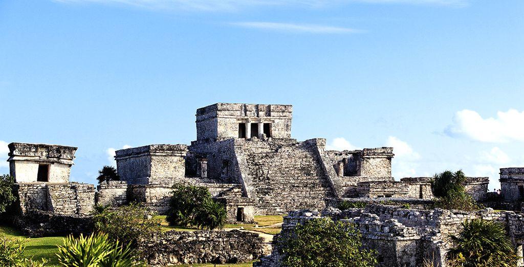 Comme des sites archéologiques de Tulum et de Coba