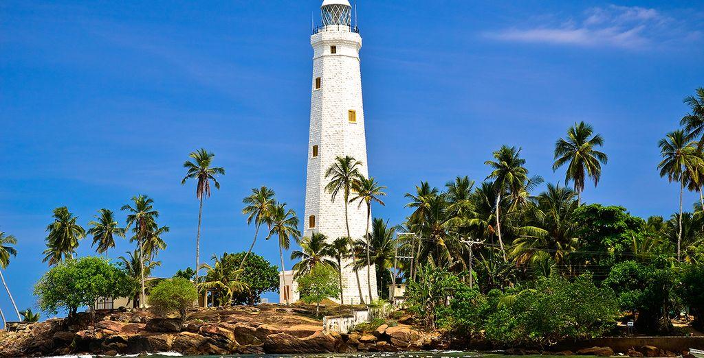 Découvrez les richesses du Sri Lanka en passant notamment par Galle et en vous accordant une petite excursion en bateau