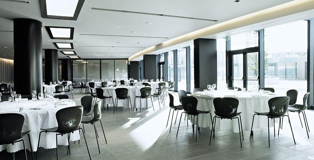 Rendez-vous chaque matin pour votre petit déjeuner au restaurant Arco
