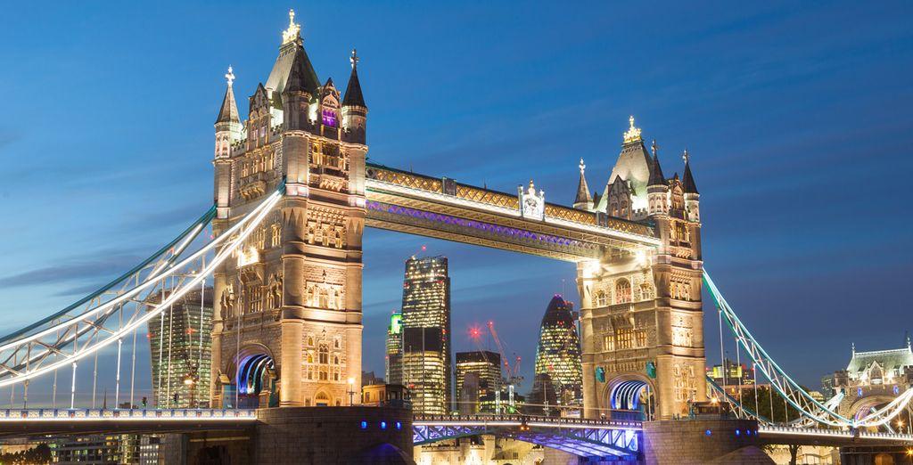 Sans oublier le Tower Bridge, bon séjour !
