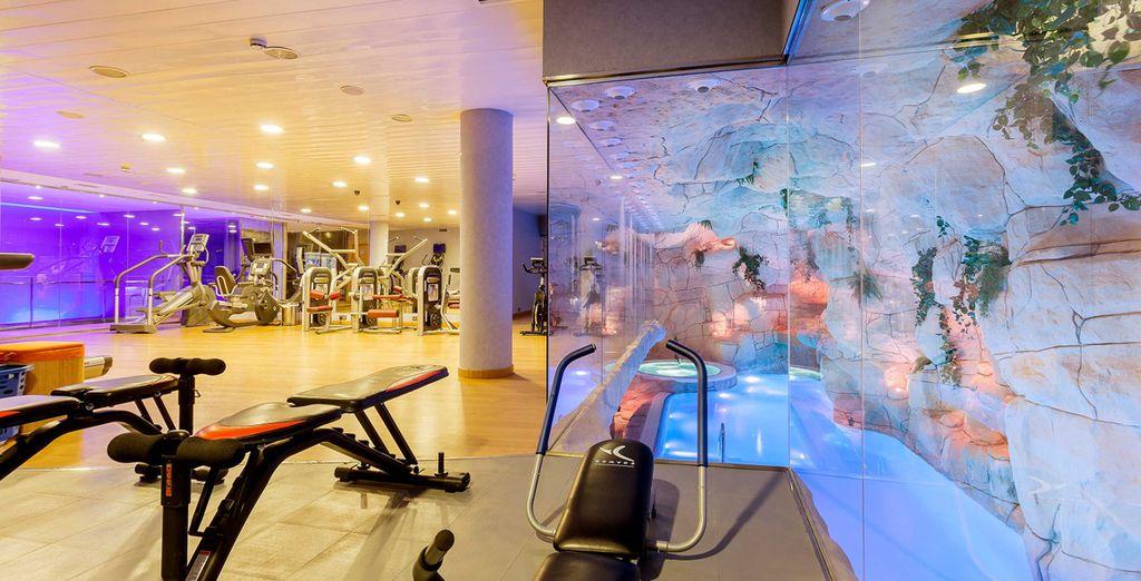Commencez par faire un peu d'exercice à la salle de fitness
