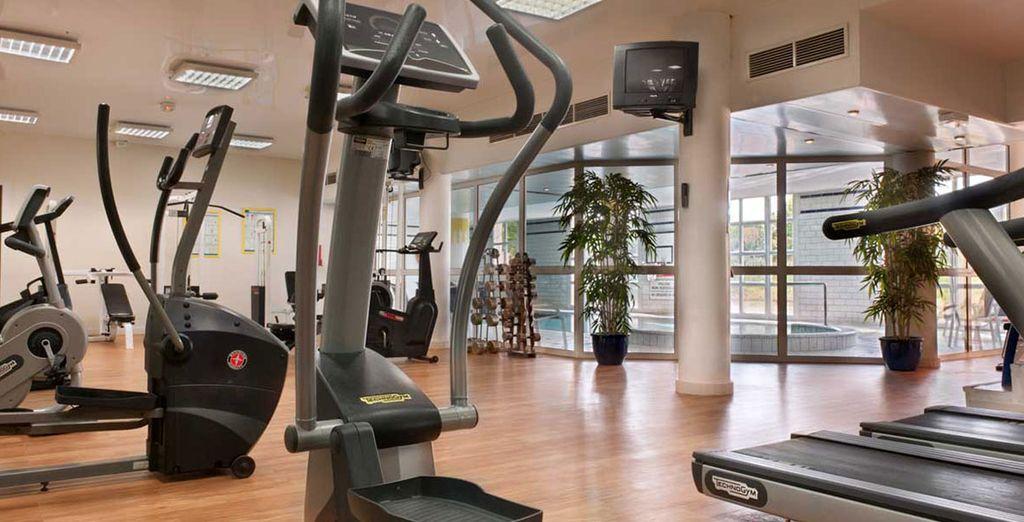 Gardez la forme au centre de fitness !