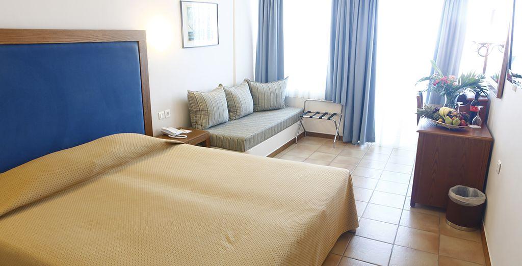 Pour vos nuits, nous vous avons réservé des hôtels 4* en chambre Standard