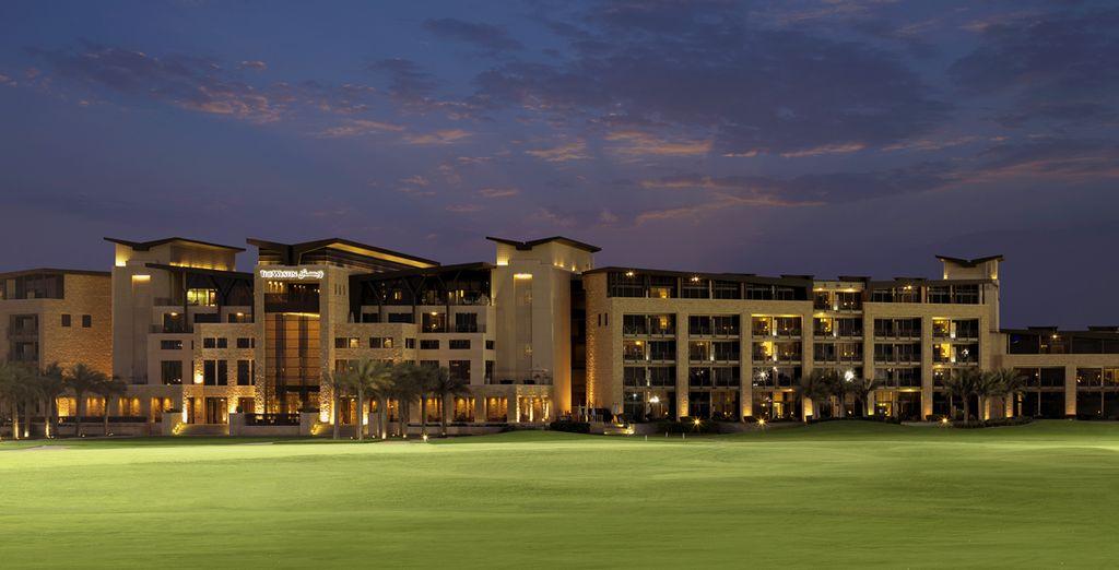 De l'hôtel The Westin Abu Dhabi Golf Resort and Spa