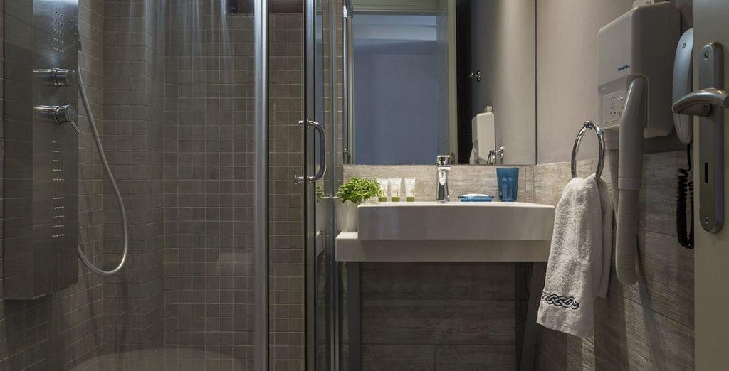 Et le confort de la salle de bain