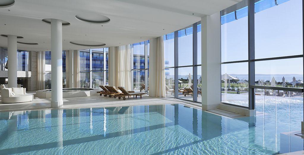 Ou la piscine intérieure