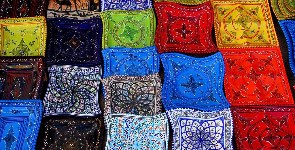 Ramenez des souvenirs des souks
