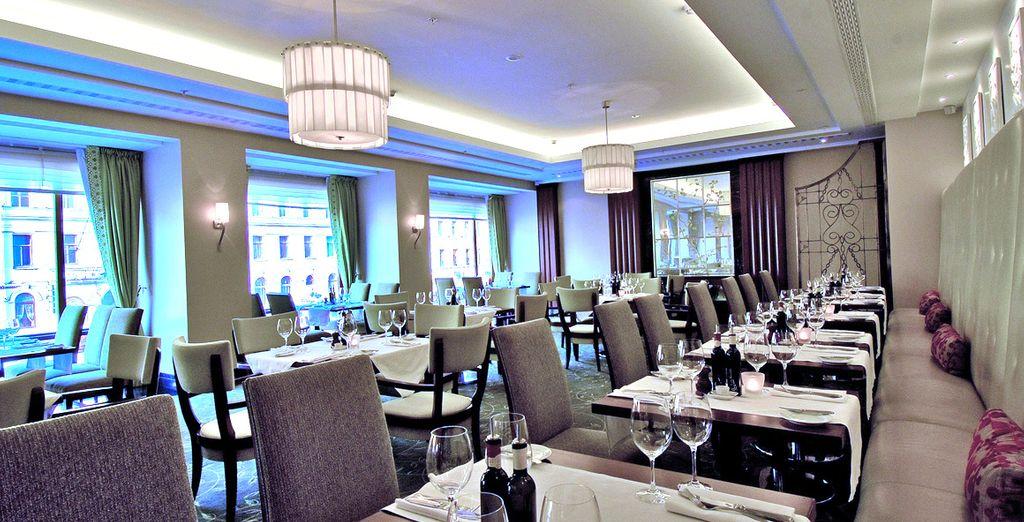 Vous aimerez dîner dans l'un des restaurants de l'hôtel