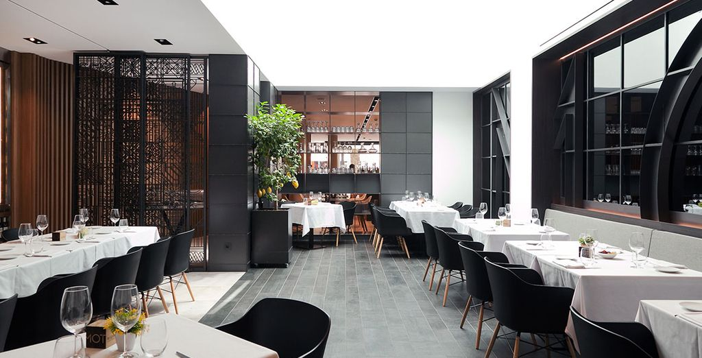 Une oasis de tranquillité à la cuisine inventive