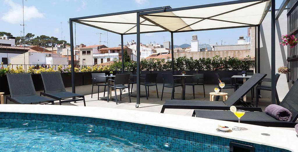 L'hôtel Vila d'Arenys vous accueille chaleureusement