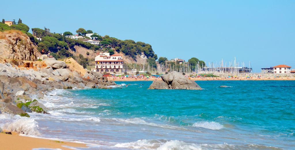 Au cœur de la ville d'Arenys de Mar