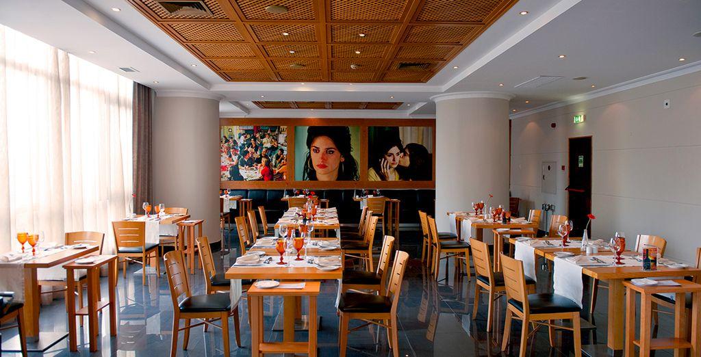 Découvrez une cuisine inventive au restaurant de l'hôtel