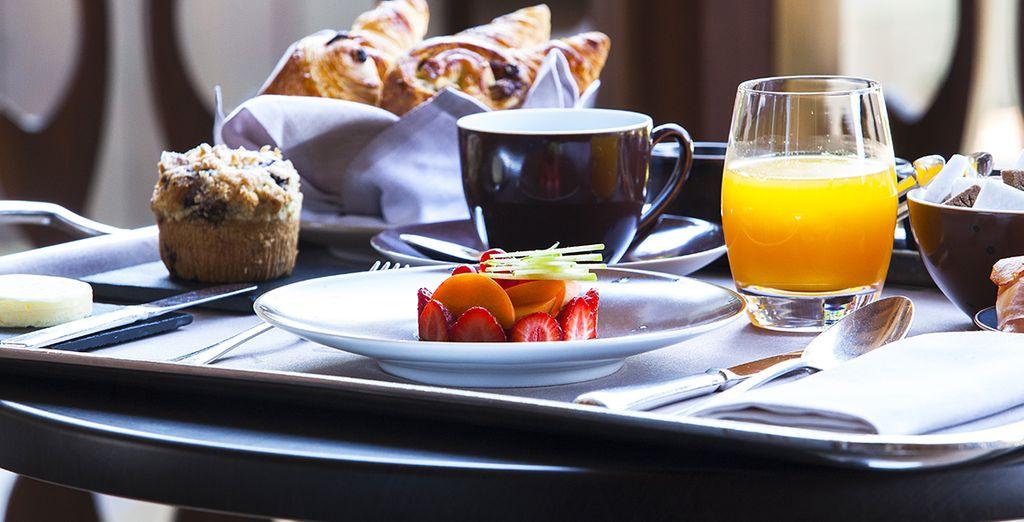 Commencez la journée en douceur par un bon petit-déjeuner