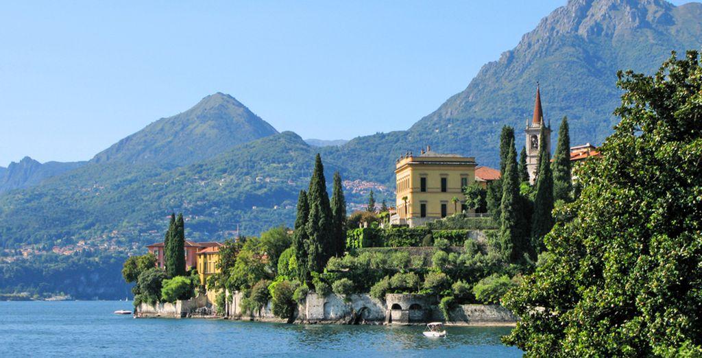 Profitez-en pour découvrir le Lac de Côme et toutes les merveilles de l'Italie