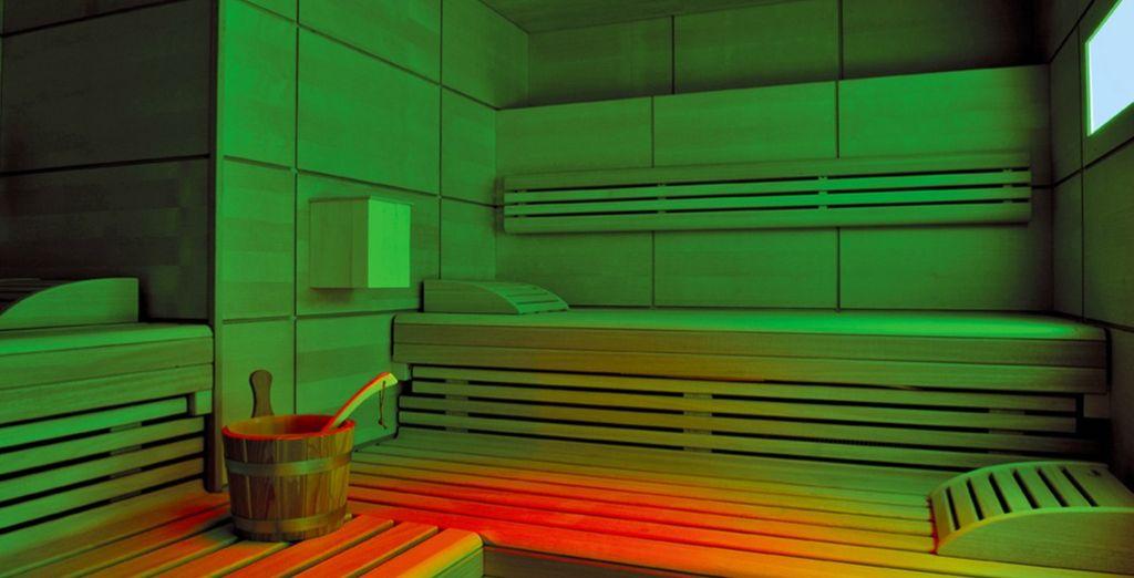 Ou revitalisez votre corps au sauna