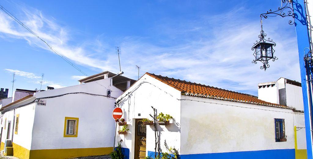 Suivez-nous à Vila Viçosa.