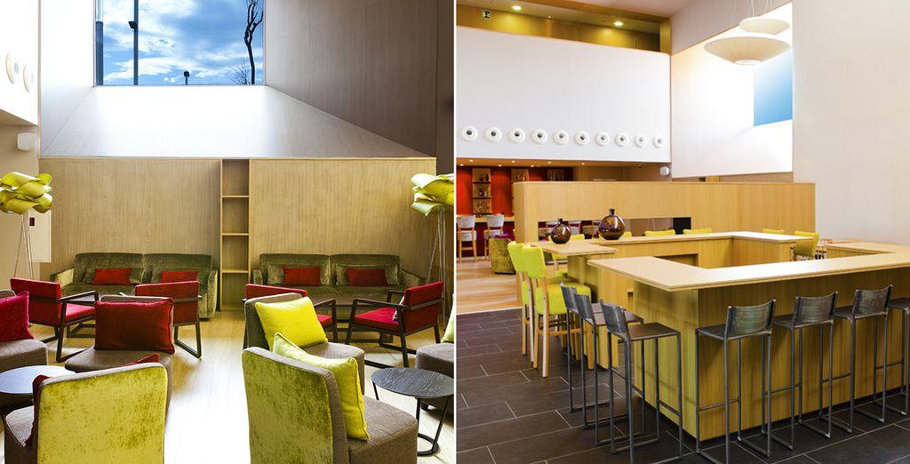 Et appréciez l'atmosphère design et vivante de cet hôtel