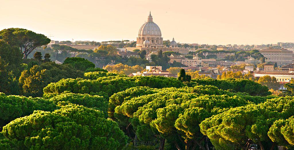 Offrez-vous un city-break à Rome !