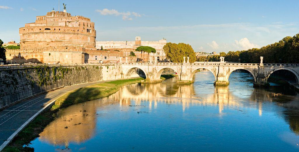 ... toutes les richesses historiques de Rome !