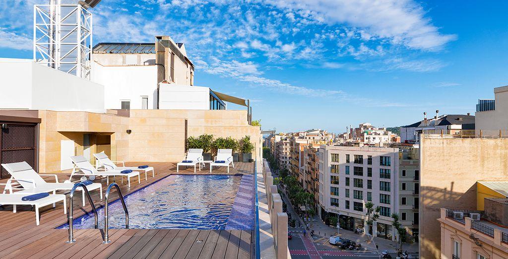 Détendez-vous sur le toit-terrasse