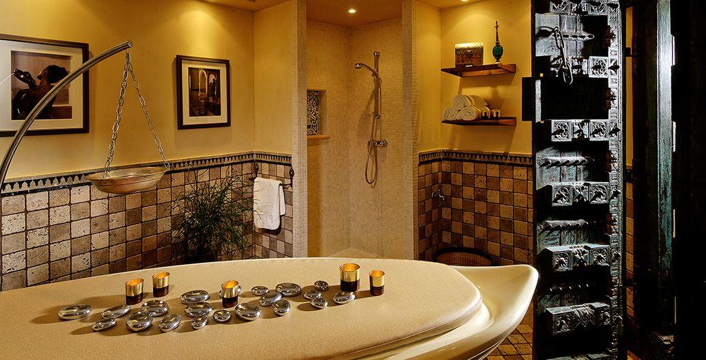 En fin de journée, pourquoi ne pas vous glisser au Spa de l'hôtel ?