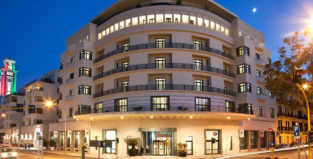 L'Hôtel Grande Albergo Delle Nazioni 5* vous ouvre ses portes