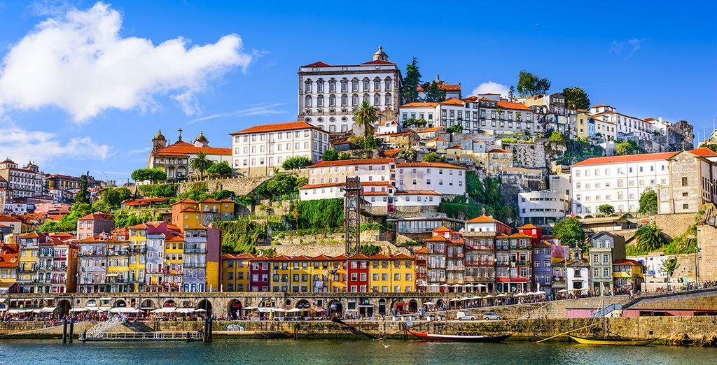 Puis prenez la route pour vous rendre à Porto