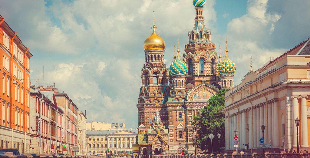 Au coeur même de Saint Pétersbourg