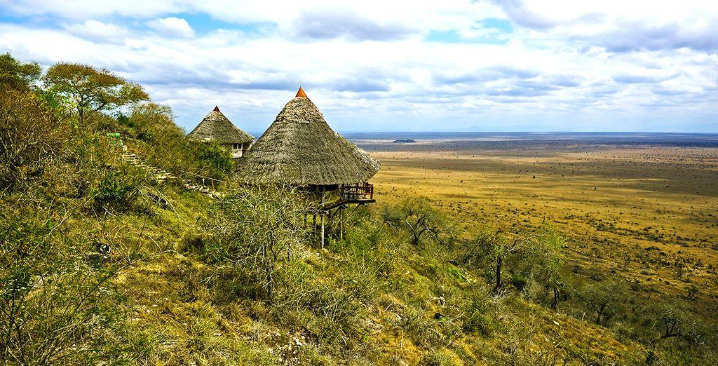 Contemplez la savane à perte de vue à Ngutuni