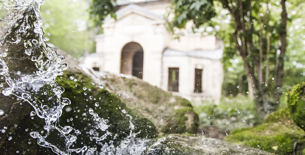 Découvrez sa source d'eau thermale