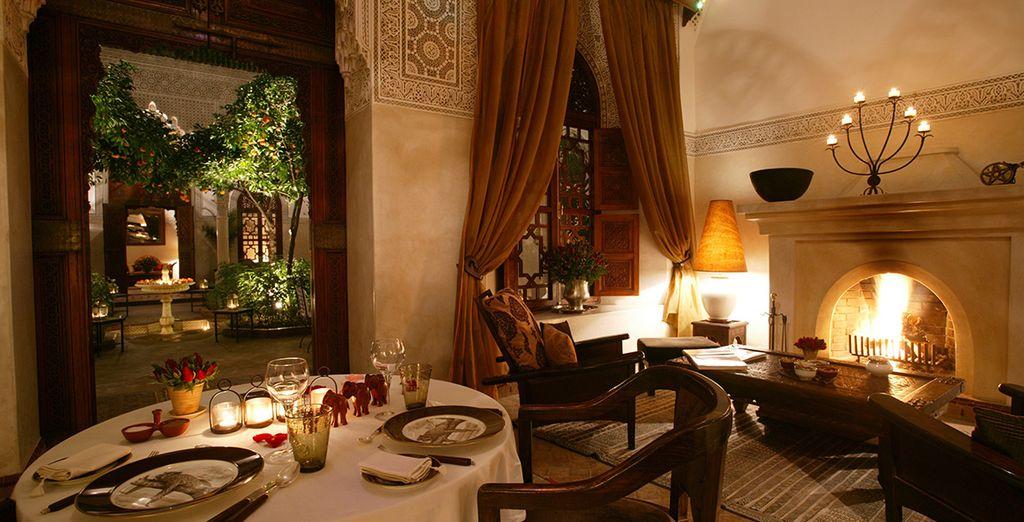 Goûtez les saveurs épicées & envoûtantes de Marrakech...