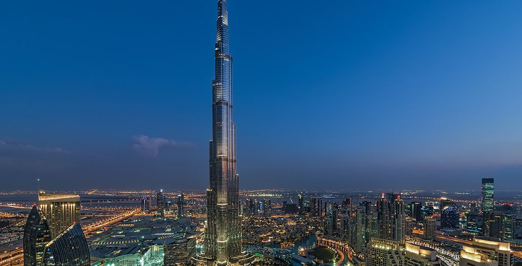 Avec vue sur la Burj Khalifa