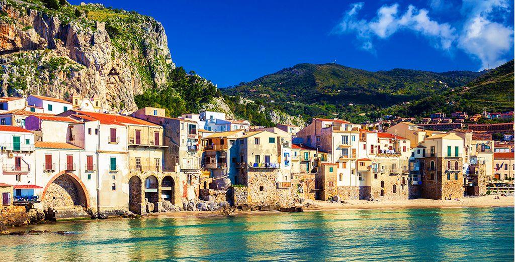 Bienvenue à Cefalu en Sicile