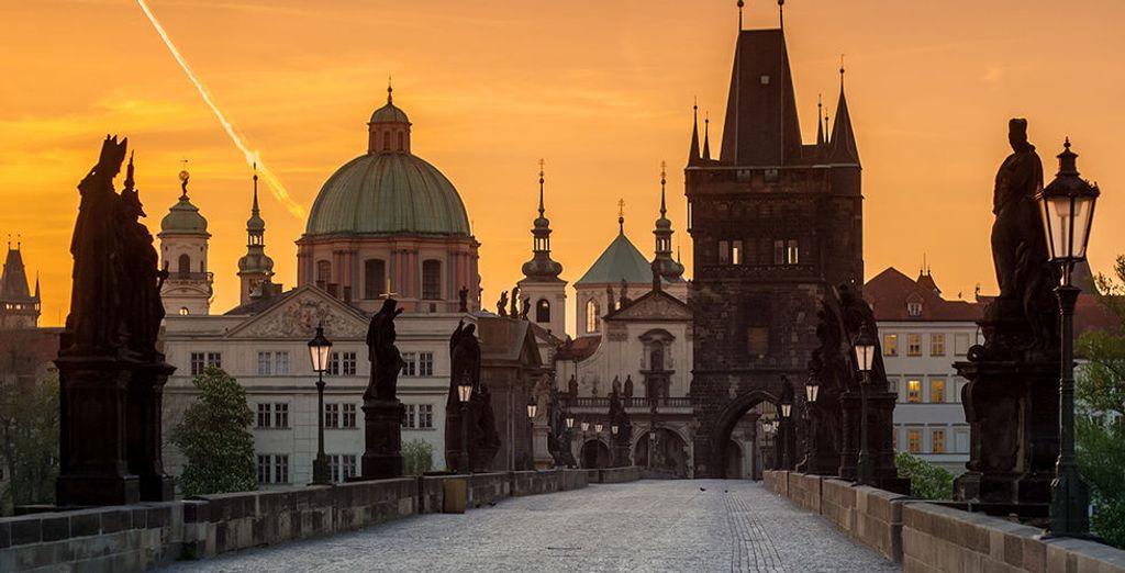 Et découvrez Prague sous un nouveau jour...