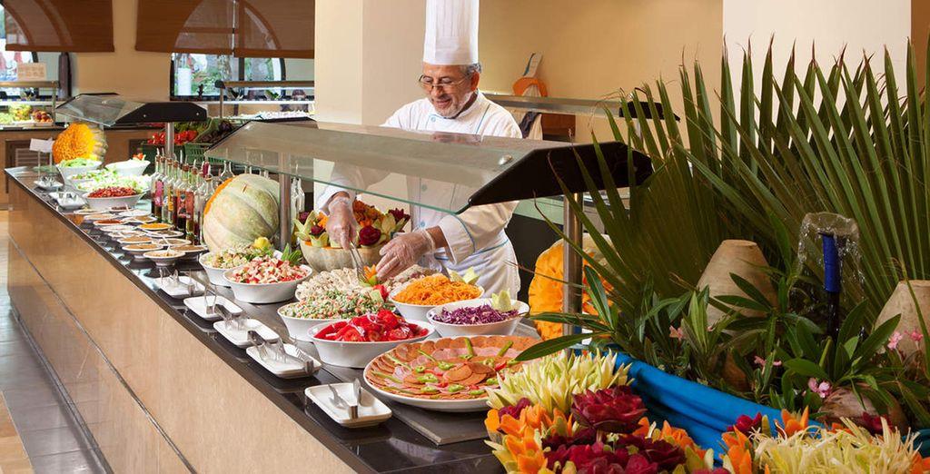 Craquez pour un buffet riche et coloré