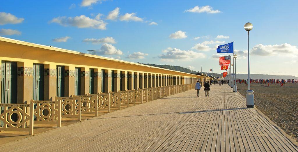 Évadez-vous sur les planches de Deauville