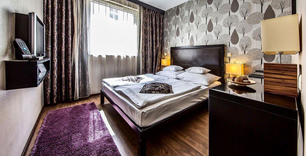 Installez-vous confortablement dans votre chambre